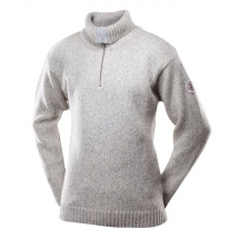 Devold-Nansen-Sweater-Zip-Neck-Grey-Melange-TC 386 410 A 770A