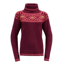 Devold-Ona-Sweater-Women-Beetroot-GO 411 390 A 740A