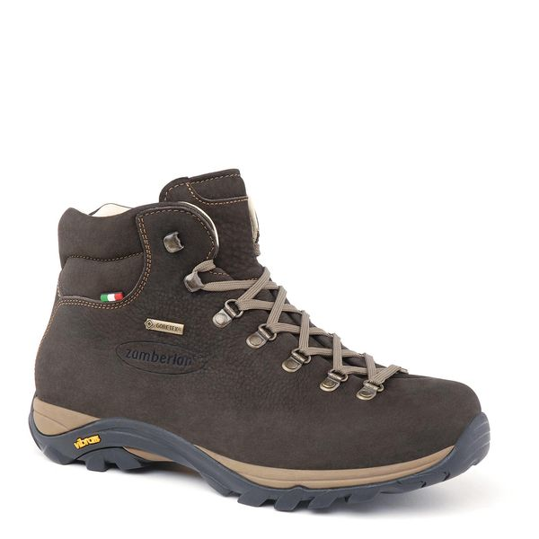 De mooiste Italiaanse leerkwaliteit - Zamberlan,  new trail lite evo ,  men, Dark Brown